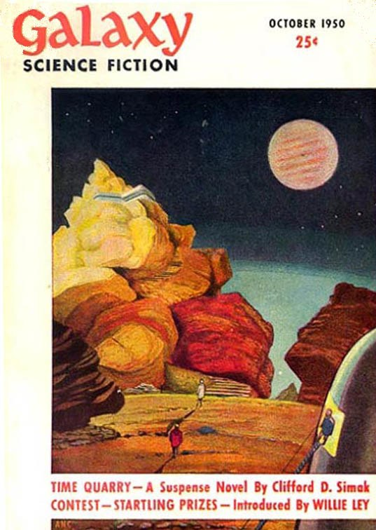 Time Quarry 5Simak novel) - Galaxy Science Fiction Novels