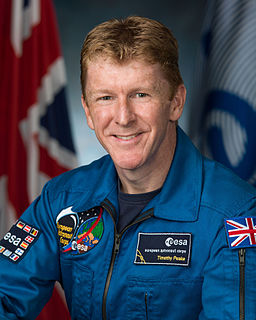Tim Peake British Army Air Corps officer and European Space Agency astronaut
