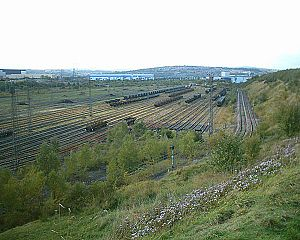 Tinsley Marshalling Yard - Tinsley Yard (2005)
