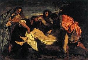 The Entombment of Christ (Titian) - Image: Tizian 028