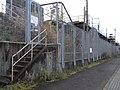 Tokaido Shinkansen maintenance workers stair - Nishijuku 02.jpg