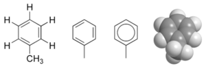 Toluene chemical structure