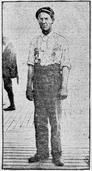 Tom Hutchinson (golfer) - Photo from New York Daily Tribune,