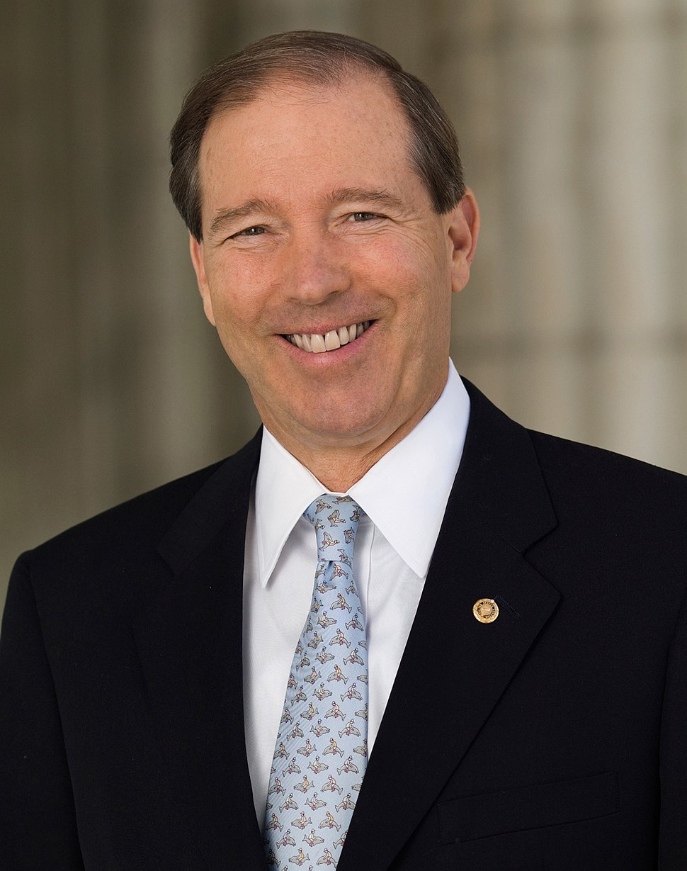 Tom Udall official Senate portrait