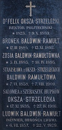 Tomb of Baldwin-Ramułt and Strzelecki families (01).jpg