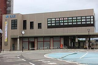 Tonami Station Railway station in Tonami, Toyama Prefecture, Japan