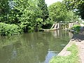 Toovey's Mill Race rejoins the Canal - geograph.org.uk - 799748.jpg