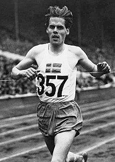 Tore Sjöstrand athletics competitor