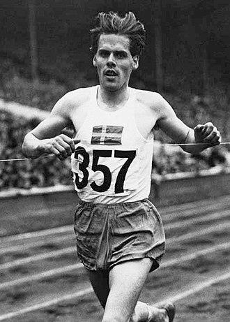 Tore Sjöstrand - Tore Sjöstrand in 1948