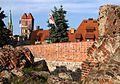 Toruń, ruiny zamku krzyżackiego i widok na Nowe Miasto (OLA Z.).JPG