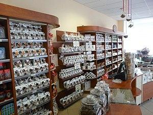 Toruń gingerbread - Interior of a Toruń gingerbread-dedicated shop in Poland