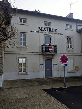 Mairie de Tossiat.