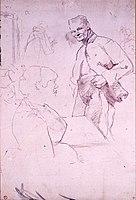 Toulouse-Lautrec - ARTILLEUR ET FEMME, 1886, MTL.120.jpg