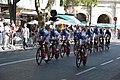 Tour d'Espagne - stage 1 - entrainement FDJ.jpg