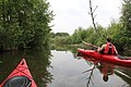Touring kayak Aquarius Trek on the river in Poland.jpg