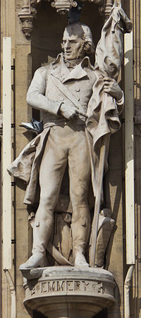 Town hall of Dunkerque - statue of Jean-Marie Joseph Emmery - detail-7579.jpg