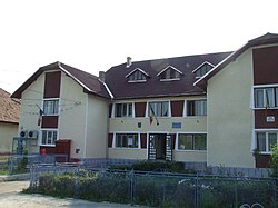 Townhall in Treznea, Salaj County.JPG