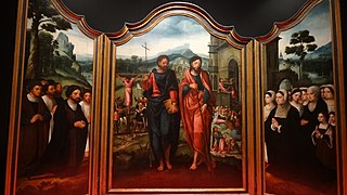 Triptych of James the Less and S. Philip
