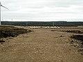 Track in Whitelee Windfarm - geograph.org.uk - 1542056.jpg