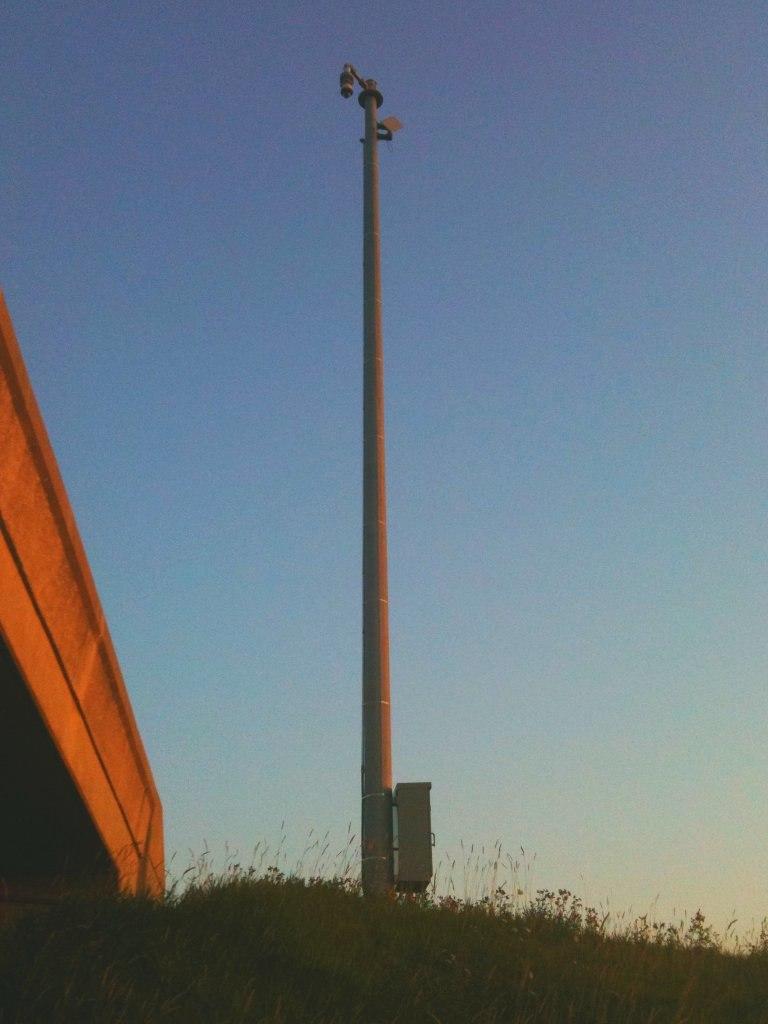 Traffic Camera Pole