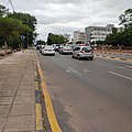 Traffic in Main Mall Gaborone.jpg