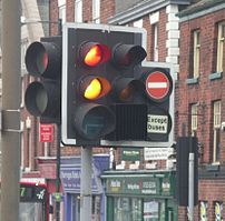 Traffic lights can have several additional lig...