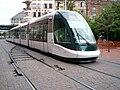 TramStrasbourg lineA HommeFer versTerminus.JPG