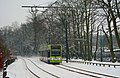 Tram in Lloyd Park, Croydon - geograph.org.uk - 2203838.jpg