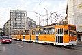 Tram in Sofia near Macedonia place 2012 PD 047.jpg