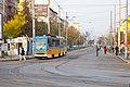Tram in Sofia near Macedonia place 2012 PD 097.jpg