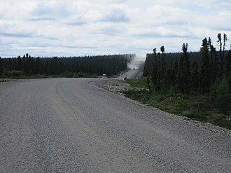 Trans-Labrador Highway - Trans-Labrador highway in Division No. 10, Subdivision D, NL
