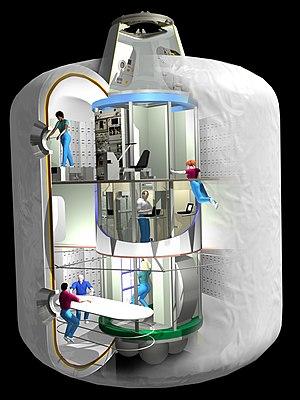 Bigelow Aerospace - NASA's design for the now-canceled TransHab module