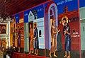 Trebisov Basilian monastery Jesus Christ frescoes 1999.jpg