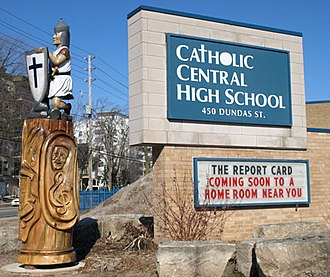 Catholic Central High School (London, Ontario) - Image: Tree 3 3