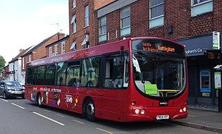 trentbarton British bus company