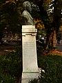 Trento-Andrea Malfatti-bust of Giovanni Canestrini-left.jpg