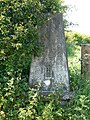 Triangulation pillar at Glasson - geograph.org.uk - 1353293.jpg