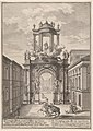 Triumphal arch erected by the foreign merchants of Vienna for the marriage of Joseph I in 1699; from 'Entwurff einer historischen Architectur ...' MET DP874791.jpg