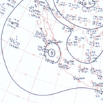 Tropical Storm Lillian surface analysis September 27, 1963.png