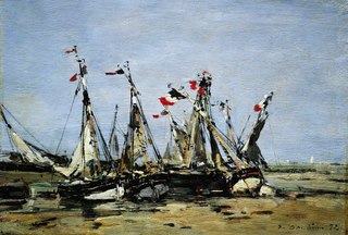 Trouville, awaiting the tide
