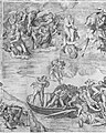 Trumpeting Angels and Damned Souls Being Pulled Down by Devils (lower center and right section of the Last Judgment) MET MM55705.jpg