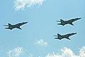 Tu-22M3 Backfire formation - Zhukovsky 2012 (8636211304).jpg