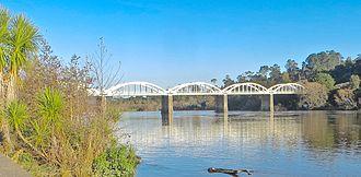 Tuakau - 1933 Tuakau Bridge
