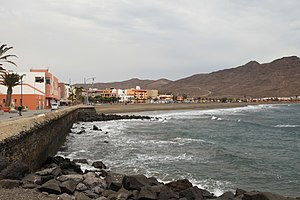 Pirate attacks on Fuerteventura in 1740 - The bay at Gran Tarajal was used by both pirate expeditions to launch their attack on the island