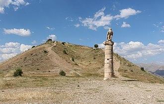 Kâhta - Image: Tumulus of Karakus 01
