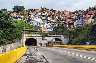Francisco Fajardo - Tunel El Paraiso is located in the Francisco Fajardo Highway in Caracas. It was built between 1967 and 1968.