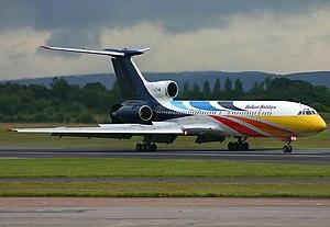 BH Air - A former BH Air Tupolev Tu-154M at Manchester Airport.