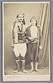 Turkse man en jongen in traditionele klederdracht, RP-F-F24949.jpg