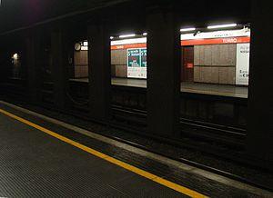 Turro (Milan Metro) - Image: Turro station Milan Metro line 1 31 05 2014