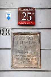 Julian Tuwim Wikipedia Wolna Encyklopedia